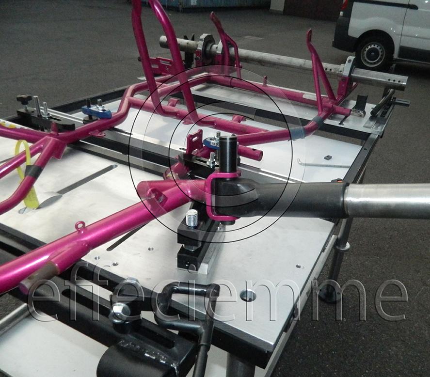 Portable Bench For Kart Frames Effeciemme